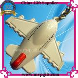 열쇠 고리 선물 (M-MK52)를 위한 3D 공기 비행기 금속 Keychain