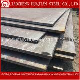 Placa de aço de carbono da Senhora chapa de aço A36 com padrão de ASTM