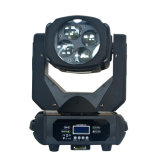 4*25W RGBW 4in1の極度のビームDMX512 LED移動ヘッドライトDJはクラブライトを示す