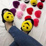 Горячая продажа мода мех благоухающем курорте обувь мягкие сандалии сдвиньте мужчин опорной части юбки поршня сандалии