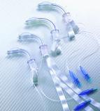 Tube de trachéotomie jetable sans doigté, manchetté pour fonctionner avec CE & ISO