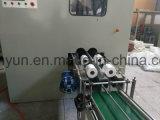 Linha de produção pequena de alta velocidade da máquina da fatura de papel de tecido do toalete