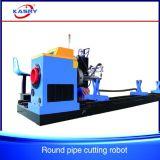 中国CNC Plamsaのステンレス鋼の管の切断および溝を作る機械