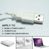 USB 2.5m 10LED освобождает свет зажима украшения света шнура зажима