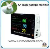 Portátil de Hospital de múltiples parámetros Monitor de signos vitales del paciente veterinarias