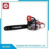 Chainsaw поставкы изготовления торговый обеспечения 52cc 5202 профессиональный оценивает изображение