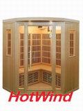 2016 de Verre Infrarode Sauna van de Zaal van de Sauna Draagbare Houten voor 3-4 Mensen (sek-BT3C)
