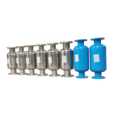 Le traitement des eaux magnétique avec des paires d'aimants en néodyme