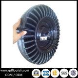 rotella di gomma solida della polvere della carriola 16X400-8 per il carrello