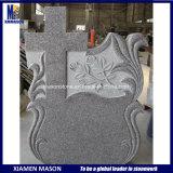 Румынский высеканный перекрестный Polished каменный памятник гранита
