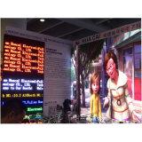 Écran d'intérieur commercial d'Afficheur LED de la publicité P4 RVB