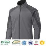 Tela laminada respirable impermeable de la chaqueta de Windpoof Softshell