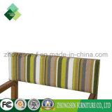 호텔 단단한 나무 가구 제조자 또는 제작자 주문품 옥외 Leiture 의자는 티크와 직물 Zbc 888의 만든다