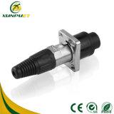 Adaptador eléctrico del moldeo a presión del alambre femenino de baja frecuencia del bloque de terminales