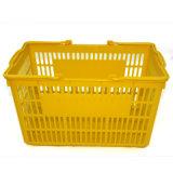 Самая лучшая продавая складывая пластичная корзина малого супермаркета корзины для товаров