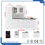 Module de cuisine estampé par PVC direct de porte des forces de défense principale 3 de dispositif trembleur de qualité d'usine bon