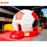 子供の膨脹可能な跳躍の警備員のためのサッカーの跳ね上がりの家
