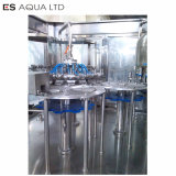 Lavagem de engarrafamento de água pura potável enchendo a linha de nivelamento da máquina da fábrica