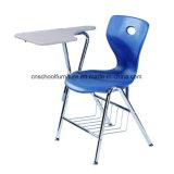 Asiento comprable de los PP del marco del metal de los muebles de escuela de la alta calidad y silla posterior del estudiante de la escuela