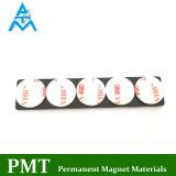 De Magneet van NdFeB van de schijf met de de Magnetische Materiële Sticker en Buis van het Neodymium