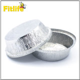 Contenitore riciclato ed a gettare del di alluminio con il coperchio