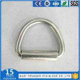 L'Ue dell'acciaio inossidabile digita l'anello saldato del triangolo