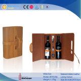 Cuero promocionales Cuadro Vino Vino armario (5781)