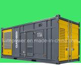 motor diesel en contenedor Kta38-G5 del conjunto de generador de 1000kVA/de 800kw Cummins