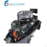 배 2 치기 가솔린 간결 샤프트 긴 샤프트 선체 밖 엔진을%s Calon Gloria 18HP 선외 발동기