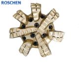 """IADC M423 12 1/4 """" Oil & Gas Drilling를 위한 Matrix Body 7 Blades PDC Drill Bits"""