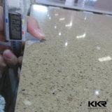 Lajes artificiais brancas da pedra de quartzo do preço de fábrica de Kingkonree