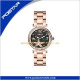 Montre de bracelet de femmes d'encadrement de Polised premier de Jewelry Diamond Set