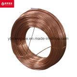 Tubo de acero revestido de cobre para el refrigerador