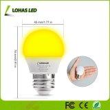 3W E26 G14 LED 노란 버그 아기 잠을%s 전구 25W 동등한 LED 밤 전구