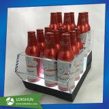 Support d'écran LED acrylique OEM pour bouteille