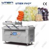 Double machine à emballer commerciale de vide de chambre, pour le fruit, légume