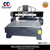 4개의 헤드 회전하는 CNC 목제 조각 또는 대패 기계 Vct-1513fr-4h