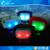 Wristband/LED 빛나는 팔찌 또는 관례 당 LED 팔찌가 크리스마스에 의하여 LED 점화한다