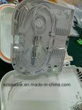 Painel de correção de programa da caixa de distribuição da fibra da caixa terminal 8 da fibra óptica com o divisor do PLC 1X8