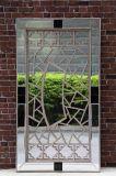 Plaza de la pared decorativo espejo de cristal