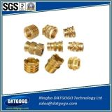 カスタム真鍮のコンポーネント、真鍮の挿入、銅CNCの回転部品