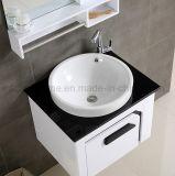 Gebrauchsfertiger Lack-hölzerner moderner Entwurfs-Badezimmer-Schrank (ACS1-L49)
