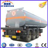 Koolstofstaal 30000-80000 van de Brandstof Liter van de Aanhangwagen van de Tank, De Semi Aanhangwagen van de Olietanker