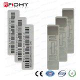 Etiqueta engomada elegante de la etiqueta de la frecuencia ultraelevada 860MHz-960MHz RFID de Monza 5 del control de gerencia
