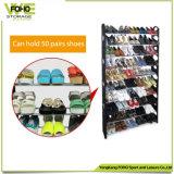 靴ラックシンプルな設計の取り外し可能な折りたたみの卸売10層の標準サイズの靴ラック