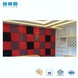 Fibra de la decoración de interiores los paneles de pared acústica.