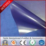 Couro do PVC da face 1.8mm-2 milímetro do dobro do projeto de Lichi para sacos das sapatas