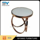 Старинная мебель воспроизведению стекло боковой столик письменный стол