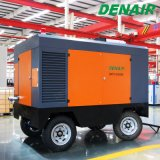 compresseur d'air mobile mobile entraîné par moteur diesel de vis de 220 - de 450 Cfm