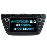 Witson oito core Android Market 8.0 aluguer de DVD para Suzuki 2014 Cross 4G ROM Ecrã Táctil 1080P 32GB ROM ecrã IPS